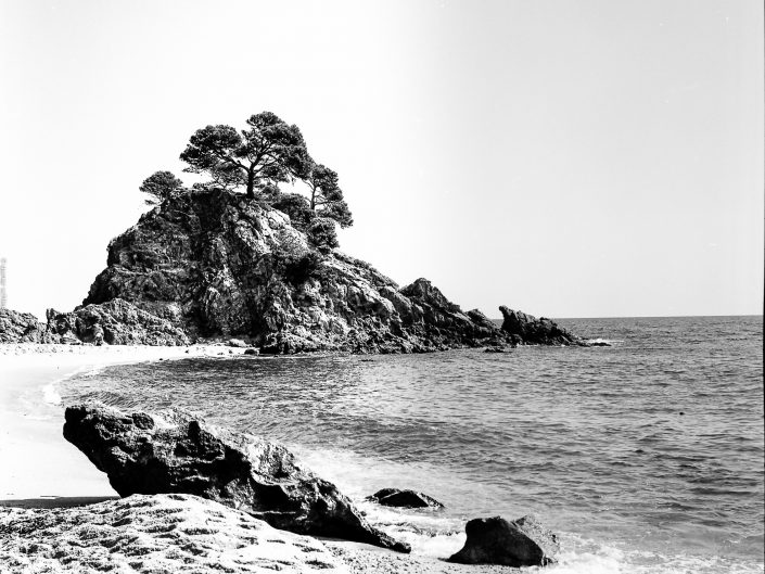 Mittelformat Cap Roig sw